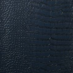 Le Embossed Croc - Deep Navy Blue  [LEC-5015] Le Embossed Croc   DesignerWallcoverings.com ™ - Your One Stop Showroom for Custom, Natural, & Specialty Wallcoverings   Largest Selection of Wall Papers   World Wide Showroom   Wallpaper Printers