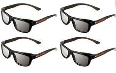 9692600c1d6 ED 4 Pack - Panasonic VIERA Compatible Passive Polarized Glasses for  Panasonic TVs Glasses! 3d GlassesPackingCinemaAudioBag ...