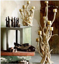 Driftwood Candelabra