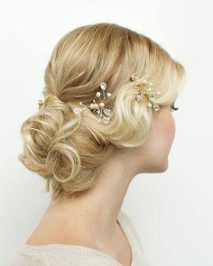 Vintage curls ~ we ❤ this! moncheribridals.com