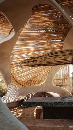 Dynamic Architecture, Organic Architecture, Futuristic Architecture, Amazing Architecture, Architecture Design, Mexico Destinations, Coffee Shop Interior Design, Earth Homes, House Extensions