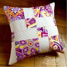 Beautiful orange back cushion!