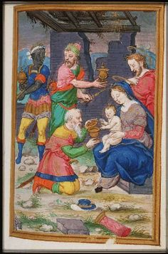 Things Aren't Simple: the Black King in Manuscripts European History, Black History, Black Figure, Late Middle Ages, Black King, Book Of Hours, Blessed Virgin Mary, Illuminated Manuscript, North Africa