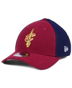 New Era Cleveland Cavaliers On Court 39THIRTY Cap - Red L/XL