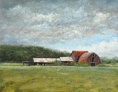 August Sky - Landscape Paintings by Joe Kazimierczyk