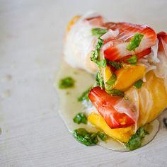 Giada's Fruit Spring Rolls