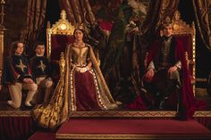 """In the battle of prestige series about British queens, the glossy pleasures of PBS's """"Victoria"""" can hold their own against Netflix's highly lauded """"The Crown. Victoria Pbs, Victoria Series, Victoria 2017, Queen Victoria Prince Albert, Victoria And Albert, Tudor, Victoria Masterpiece, Public, Historical Costume"""