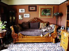 EDWARDIAN DAY BED Can be bought at Victorian Trading Company