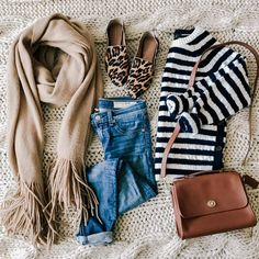 Recent Finds: Free People Kolby Scarf, striped sweater, leopard loafers, & more!