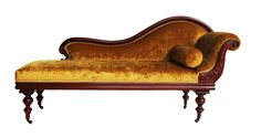 CHAISE LONGUE - classic example of tranditional antique restoration