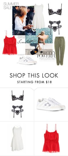 """sale"" by mathildestaber on Polyvore featuring Agent Provocateur, Off-White, Designers Remix and Haider Ackermann"