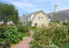 Kansas State University display gardens surround the bug zoo/