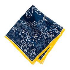 Drakes London® bandana handkerchief from J.Crew. Fab-u-lous.
