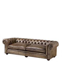 #EICHHOLTZ Sofa Gymnasium ts rich leather.