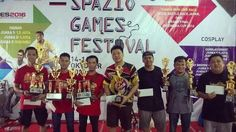 The winners for Indonesia Cup 2016 Grand Final