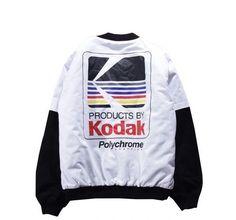 Kodak Polychrome Streetwear Bomber