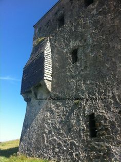 Rockfleet on Clare Island is just one of the O'Malley clan castles dotted along the coast in Ireland. Pirates!