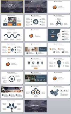 31 best blue business report powerpoint template identidad visual 31 best blue business report powerpoint template identidad visual pinterest template business and business company wajeb