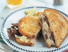 Tempeh Reubens with Caramelized Onions