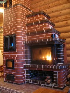 Swede with fireplace Pizza Oven Fireplace, Stove Fireplace, Garden Fountains For Sale, Cordwood Homes, Brick Masonry, Grill Oven, Brick Architecture, Wood Fired Oven, Brick Design