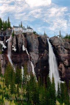 Bridal Veil Falls, Telluride, Colorado very lovely
