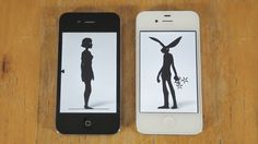 Brunettes Shoot Blondes - Knock Knock (Official Video) - Music Video on ... amazing iphone/ipad animation