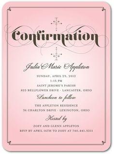 confirmation invitations confirmation invites with dove