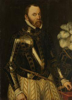 Утрехт — между 1576 и Антверпен) — Philippe de Montmorency graaf van Hoorne. Utrecht, 16th Century Fashion, 17th Century, Holland, Renaissance Portraits, Renaissance Paintings, Man Of War, Dutch Painters, Religion