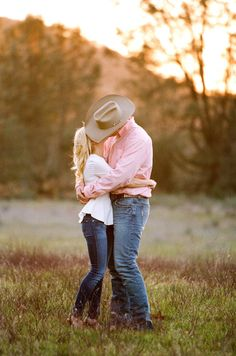 Cowboy engagement | Braedon Photography | Style Me Pretty