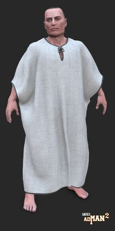 New dynamic  ancient robes for the free Poser adman v2.