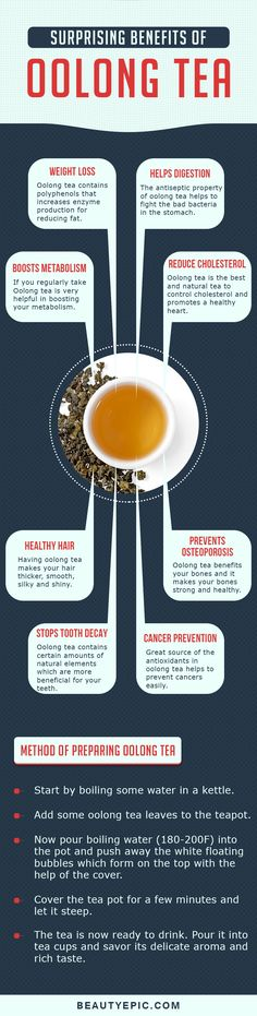 14 Surprising Benefits of Oolong Tea You Probably Didn't Know