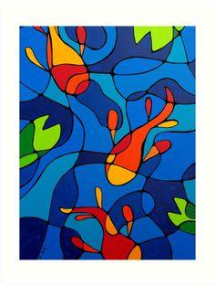 Bunte Zusammenfassung Koi Pond Kaufen Abstrakte Kunstdrucke von Sharon Cummings, Fine Artist. Von Gemälde und Entwürfe. Kaufen Sie Kunst online. Bunte abstrakte Wand-Kunst. Abstrakte Landschaften, Blumen und mehr … FOLGEN SIE AUF FACEBOOK: Sharon Bratcher Cummings FULL PORTFOLIO: www.yessy.com/terracegallery Die FAA-Wasserzeichen wird nicht auf jedem Endprodukt erscheinen! Wenn Sie meine Art Gallery zu sehen, drücken Sie bitte die Pinterest, FB, Google+, Twitter oder SU Buttons...