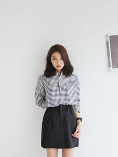 Korean Fashion – How to Dress up Korean Style – Designer Fashion Tips Korean Fashion Casual, Korean Fashion Trends, Korean Street Fashion, Ulzzang Fashion, Korea Fashion, Asian Fashion, Casual Korean Outfits, Korean Casual, Fashion Moda
