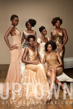 """Lupita Nyong'o & the women of """"Eclipsed"""" make Broadway History! See their UPTOWN cover"""