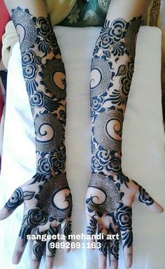 111 Latest Bridal Mehndi Designs That Will Leave you Breathless