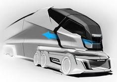 Designed with the European Unions goal to drastically reduce emissions by Quantum Levitate not only introduces an entirely new clean-energy cargo vehicle to the market, Click Visit link to read Airplane Car, Motorbike Design, Future Trucks, Truck Design, Futuristic Cars, Commercial Vehicle, Transportation Design, Automotive Design, Cool Trucks