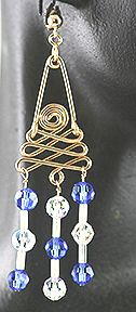 30 Spiral Jewelry Wire & Beads Earring Jewelry Making Project