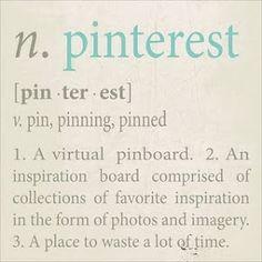 Pinterest syndrome = You feel you can encompass the world, you feel like a... Homeric goddess.
