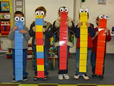 Super-Sized Subtraction- life sized base ten blocks to act out subtracting multiples of ten Más Teaching Subtraction, Teaching Math, Teaching Ideas, Subtraction Activities, Creative Teaching, Base Ten Activities, Math Activities, Math Place Value, Place Values