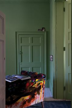 A vibrant choice. Yeabridge Green is one of Farrow and Ball's New Colours for 2016