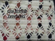 Freeform Crochet, Tunisian Crochet, Learn To Crochet, Crochet Motif, Easy Crochet, Crochet Flowers, Crochet Baby, Stitch Crochet, Crochet Stitches Patterns