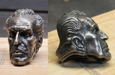 "For his ""Survival Art Sale"" on Indiegogo, California artist Paul Komoda has been selling some of his rare art and jewelry pieces including a rare (and absolutely fantastic) gigantic silver ring that features the head of Vincent Price."
