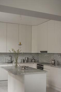 Kitchen Room Design, Home Room Design, Ikea Kitchen, Kitchen Interior, Kitchen Decor, House Design, Refacing Cuisine, Grey Kitchen Inspiration, Beddinge