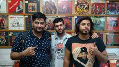 Musicnonstop: Rodrigo Gorky, A-Trak e Phillip A em rolê pelo centro de São Paulo pra comprar vinil