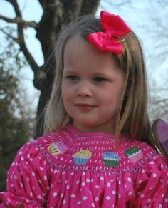 Cupcake Smocked Dress from Ginger Hares