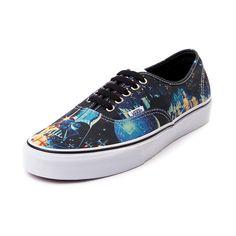 f425171c28 Vans Authentic Star Wars Poster Skate Shoe Star Wars Vans