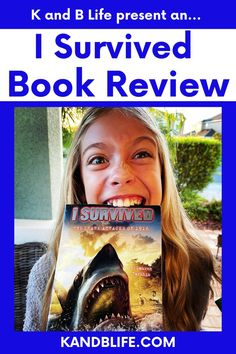 Kinley (12) and Brecken (10) from KANDBLIFE.COM review the I Survived Book Series from author Lauren Tarshis. Get a review for a kids book from actual kids! Lauren Tarshis, Book Reviews For Kids, I Survived, Love Book, Book Series, Childrens Books, Survival, Author, Reading