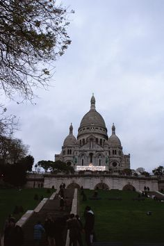 The Sacre Coeur. Check out my travel blog!