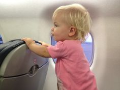 6 tips for air travel with a toddler.I& be glad I pinned this someday! Toddler Travel, Toddler Fun, Travel With Kids, Family Travel, Airplane Activities, Toddler Activities, Disney Vacations, Disney Trips, Flying With A Toddler