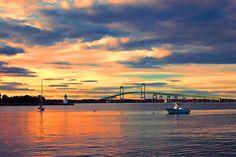 Newport Gold by Joann Vitali.